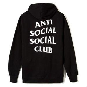 Anti Social Social Club Mind Games Zip Up Hoodie